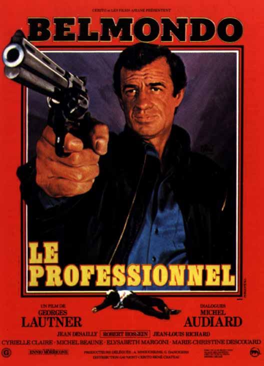 Affiche du Professionnel (1981) (D.R.)