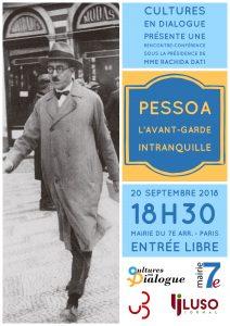 Affiche - événement Fernando Pessoa